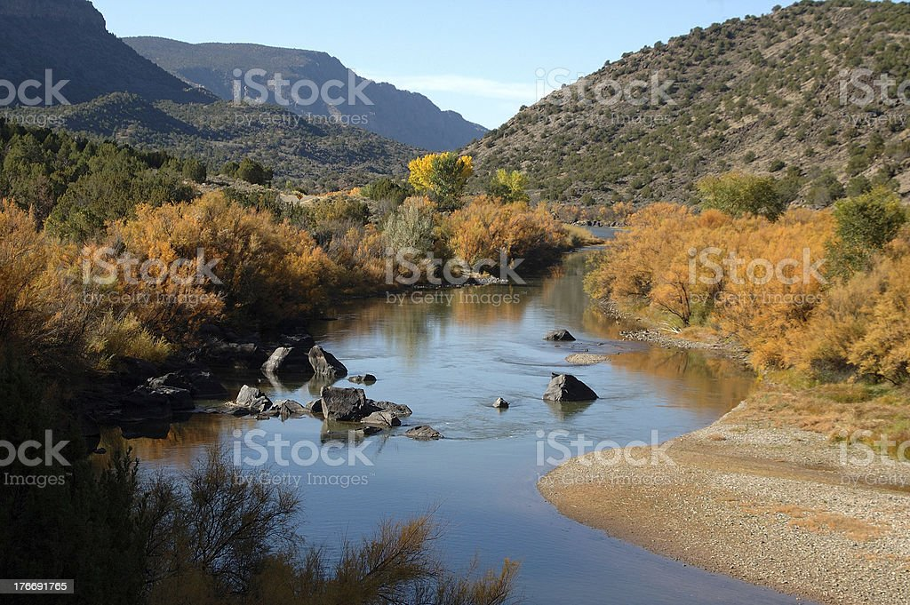 Rio Grande del Norte National Monument, New Mexico stock photo