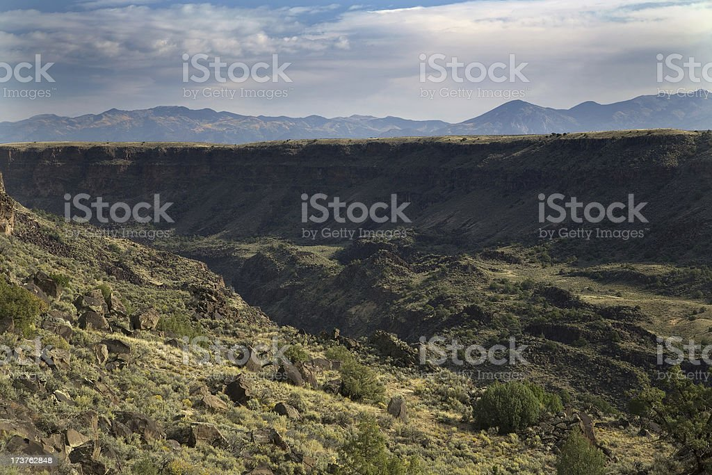 Rio Grande Gorge stock photo