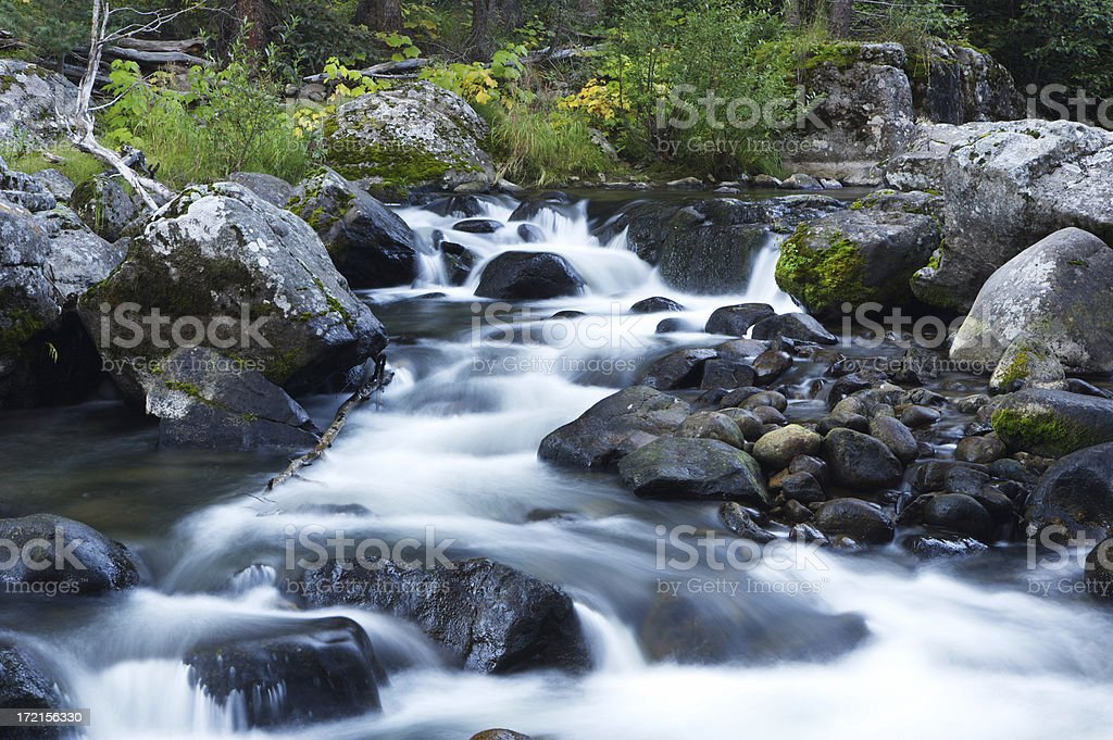 Rio Grande Headwaters (H) royalty-free stock photo