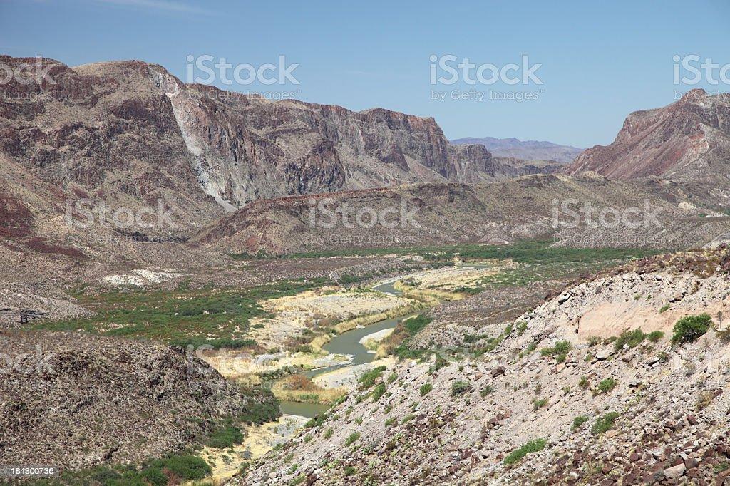 Rio Grande royalty-free stock photo
