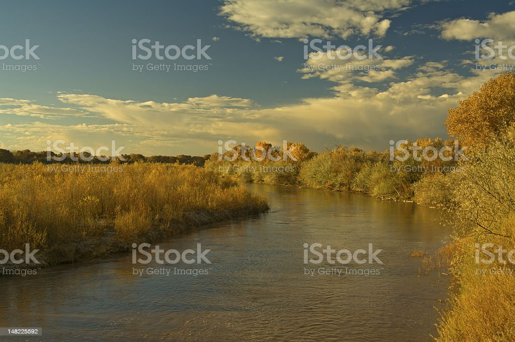 Rio Grande River royalty-free stock photo
