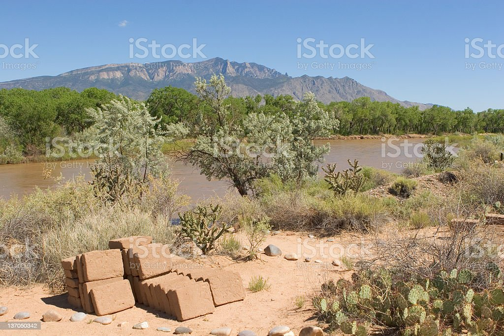 Rio Grande River Valley royalty-free stock photo