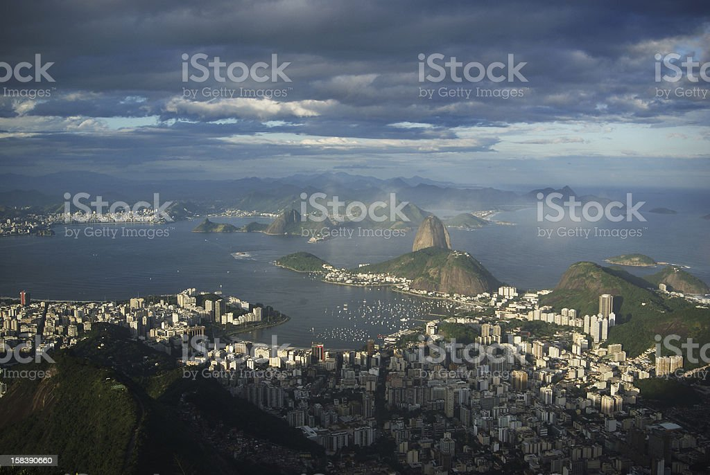 Rio Harbour, Brazil royalty-free stock photo