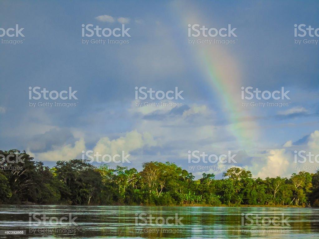 Rio Napo stock photo