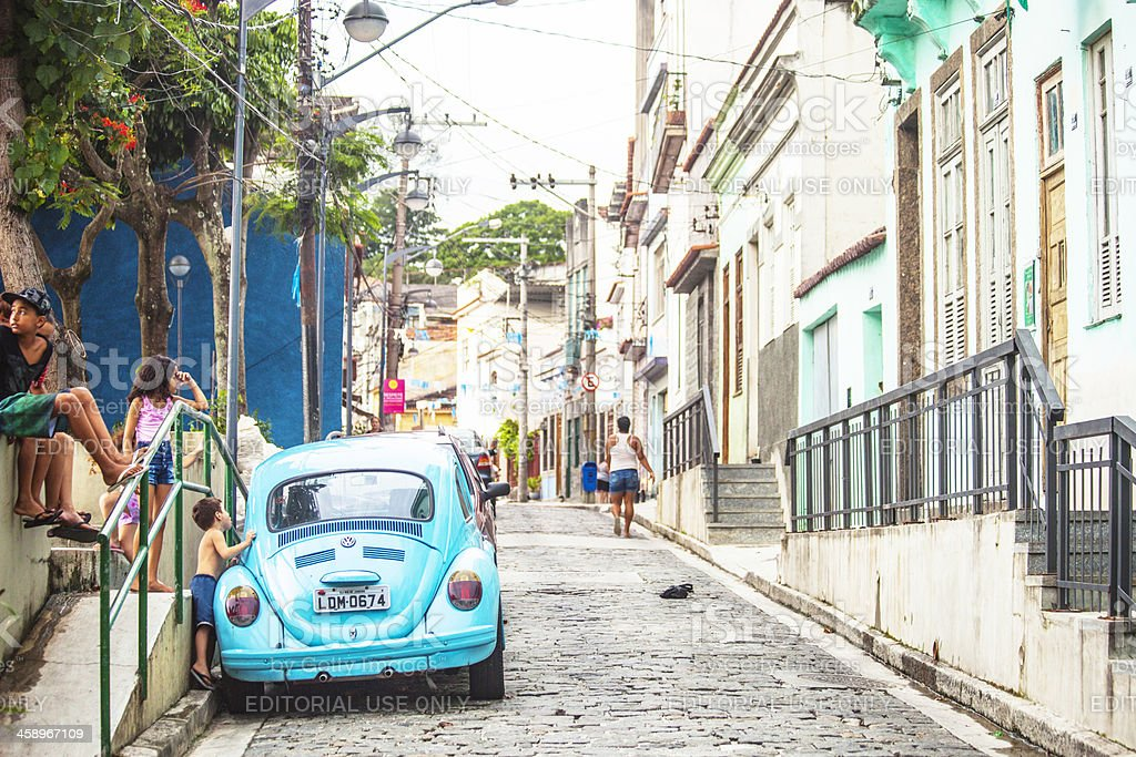Rio old town. royalty-free stock photo