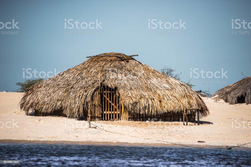Rio Preguiças - Casa de Indio stock photo