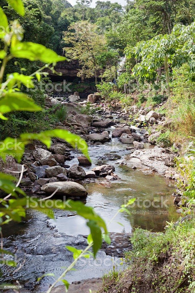 Rio Santa Emilia stock photo
