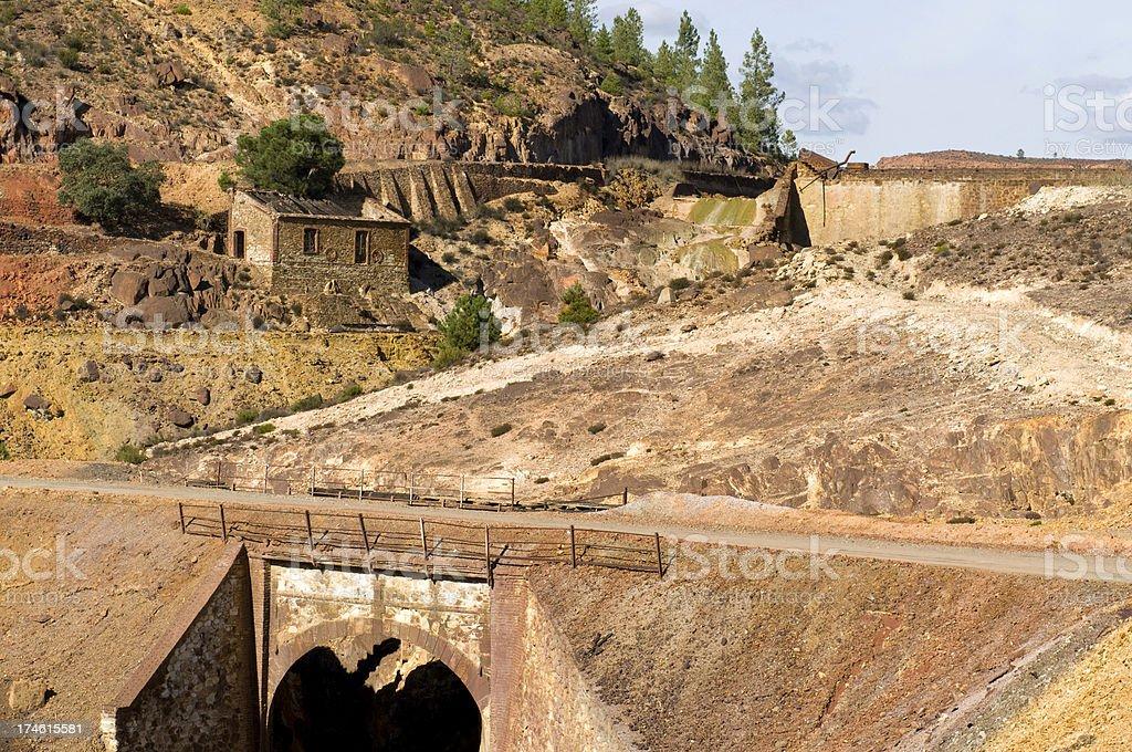 Rio Tinto Mine royalty-free stock photo
