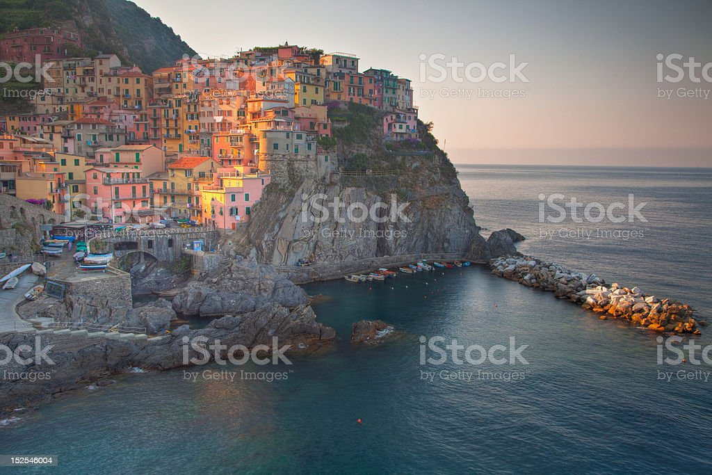 riomaggiore royalty-free stock photo