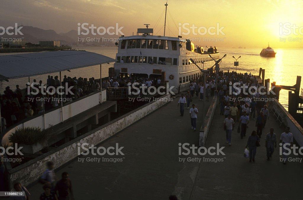 Rio-Niteroi journey royalty-free stock photo