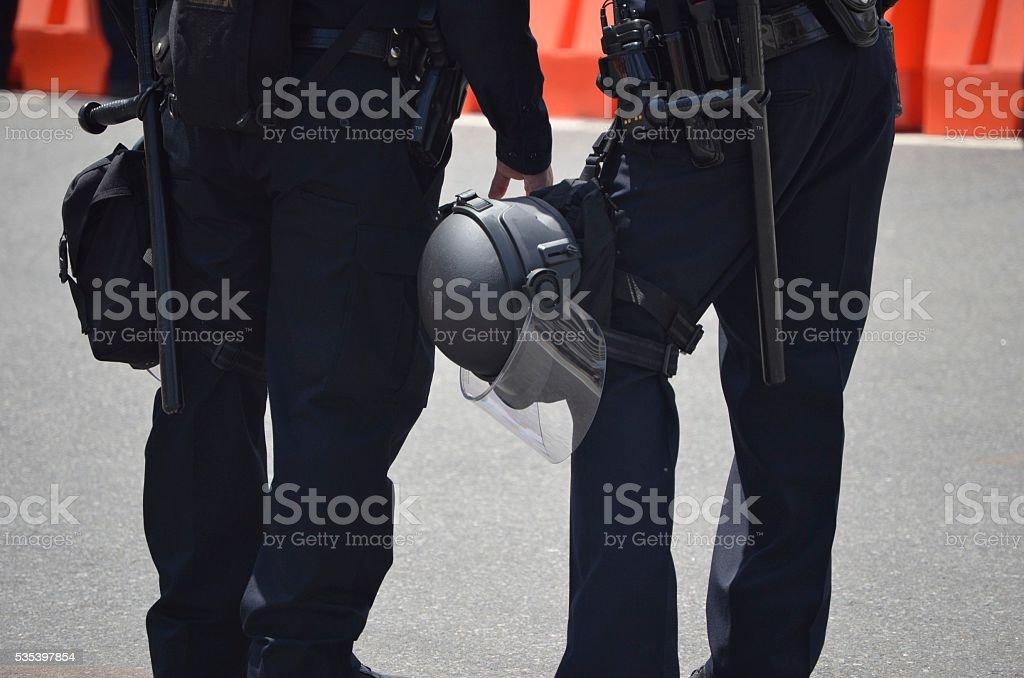 Riot Gear stock photo