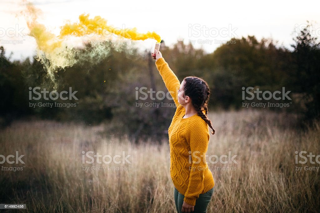 Riot generation stock photo