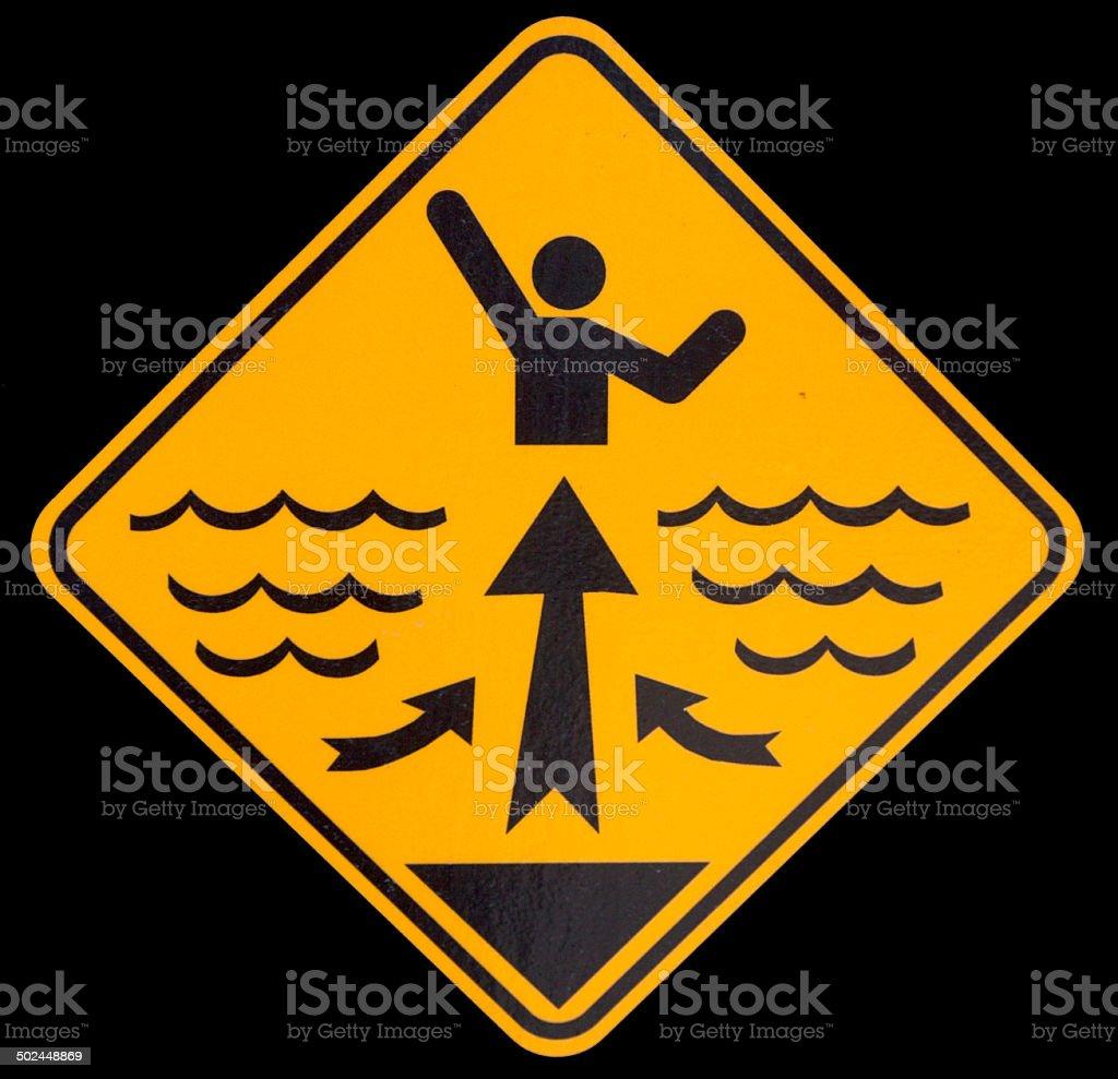 Rip Tide Waring stock photo