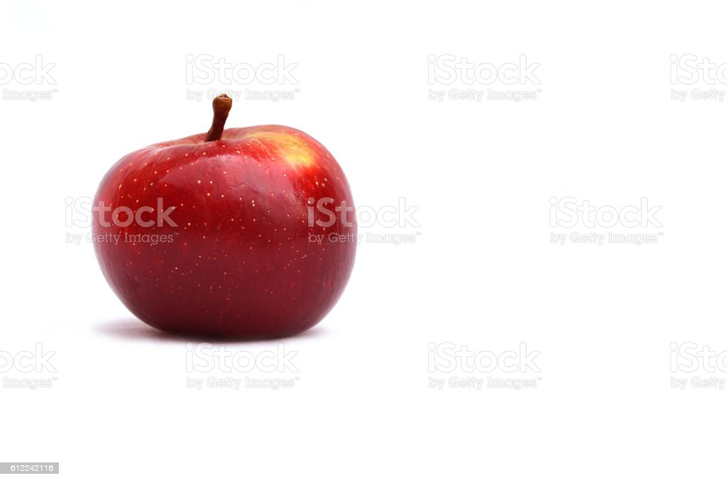 ripe apple delicious and nutritious snack. stock photo