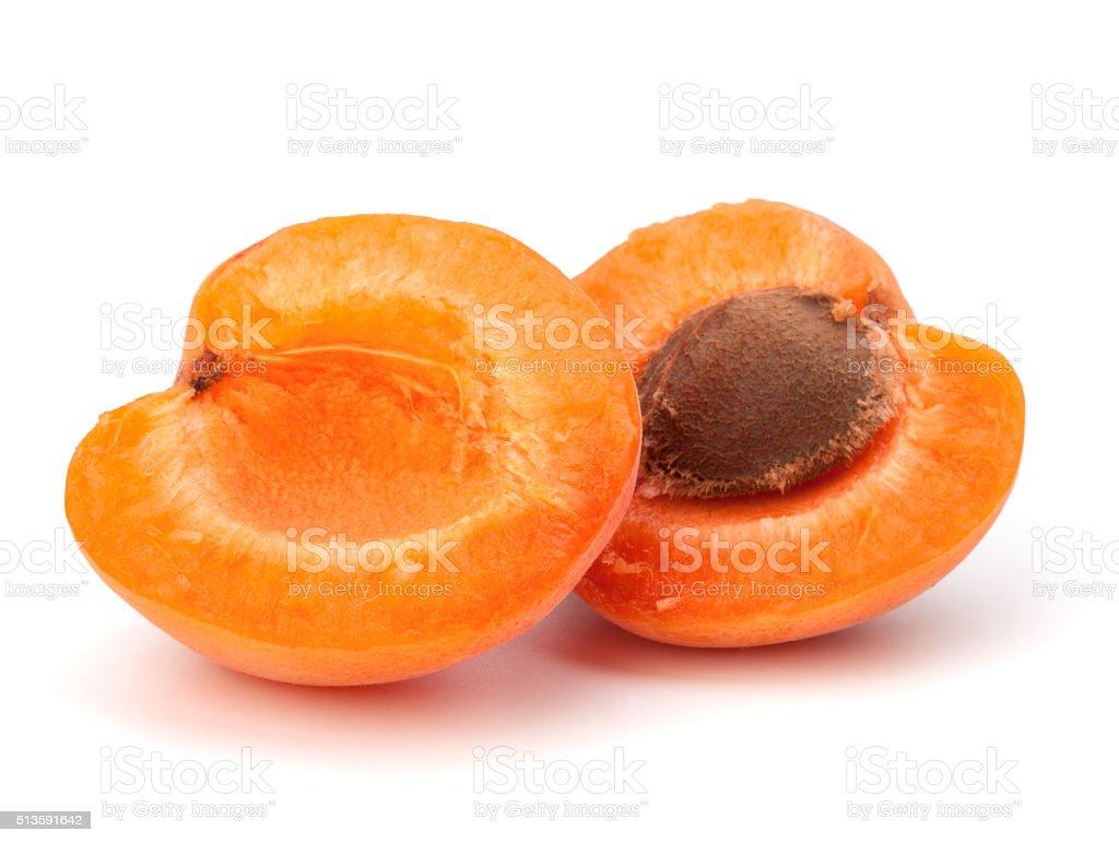 Ripe apricot fruit stock photo