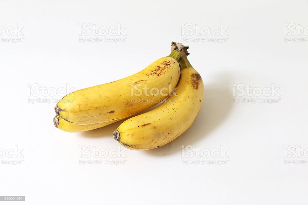 Ripe Banana (Pisang Berangan) stock photo
