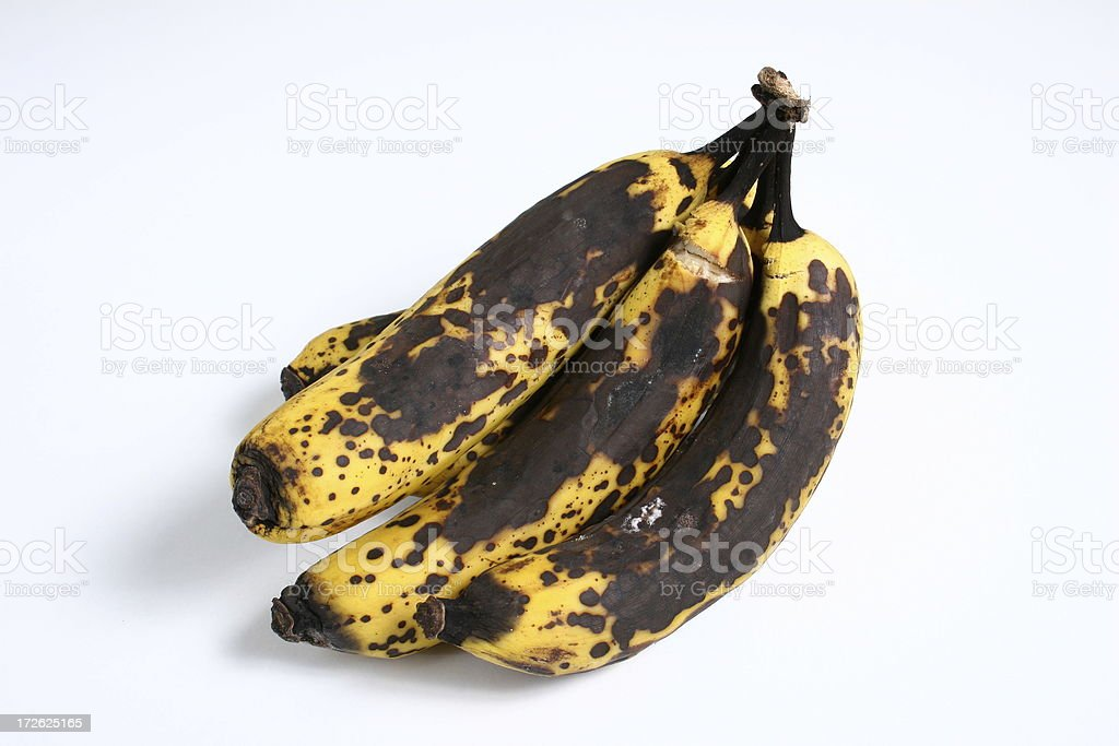Ripe Bananas royalty-free stock photo