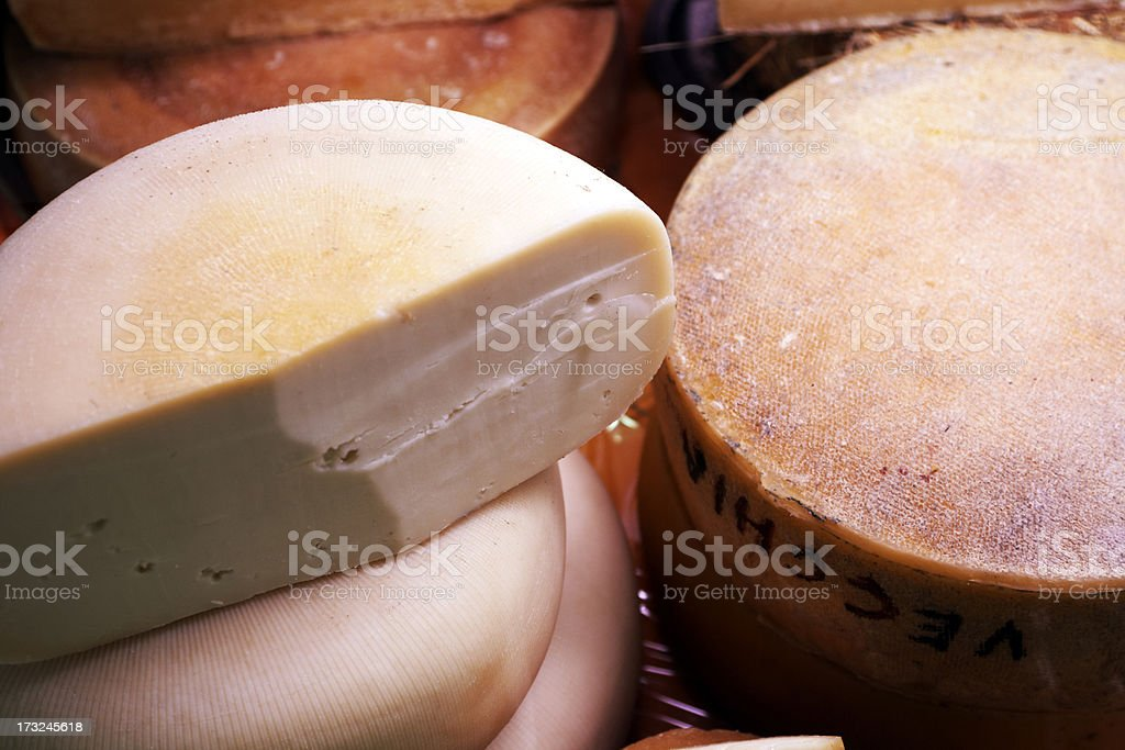 Ripe Cheese. Color Image stock photo