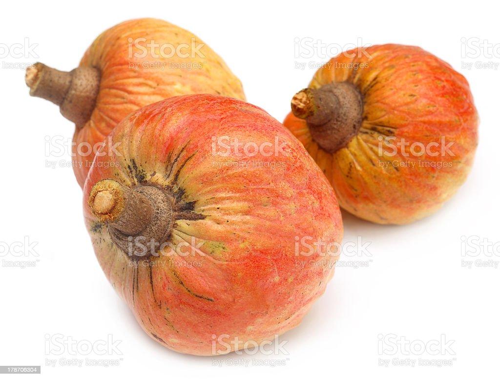 Ripe custard apples stock photo