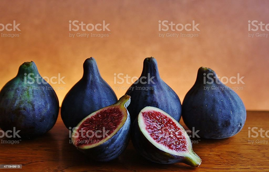 Ripe Figs stock photo