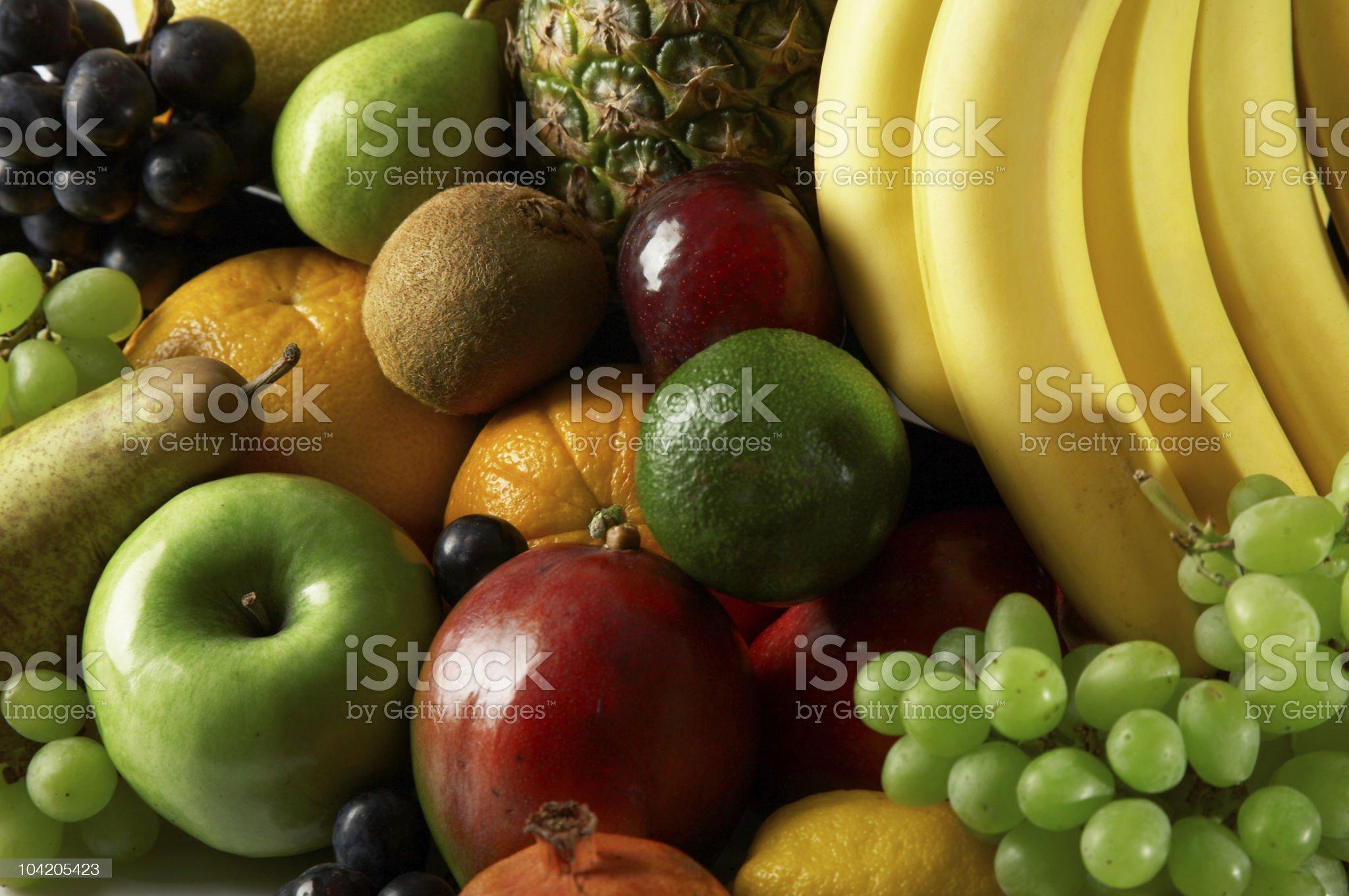 Ripe fresh fruit. royalty-free stock photo