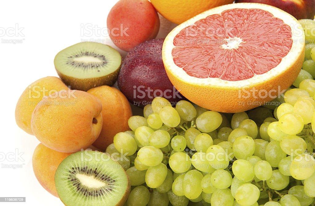 Ripe fruits royalty-free stock photo