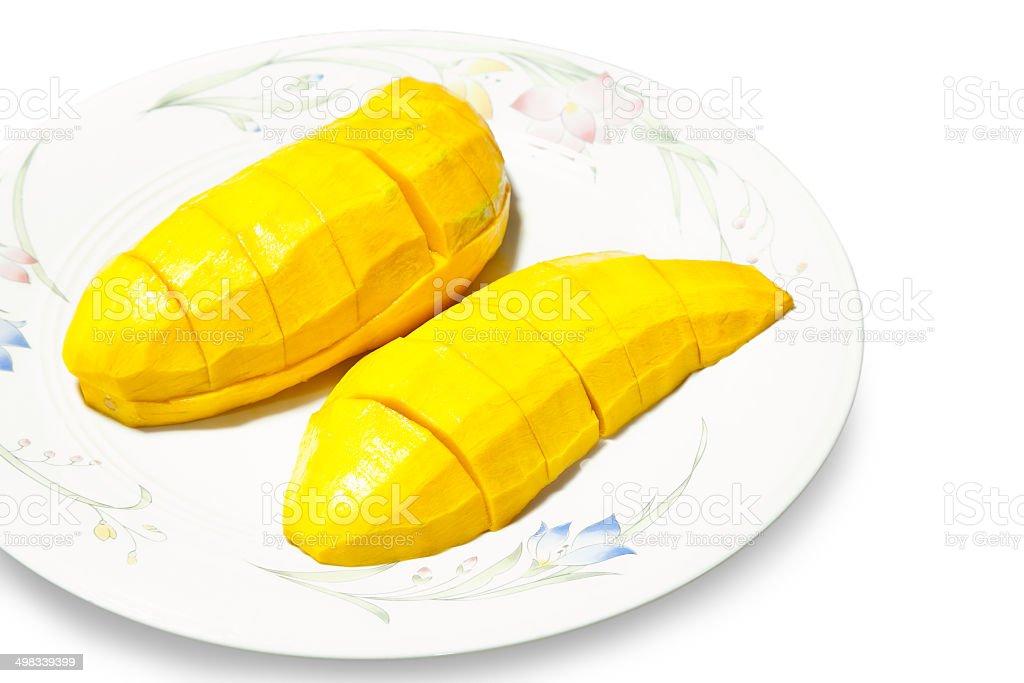 Ripe mango royalty-free stock photo