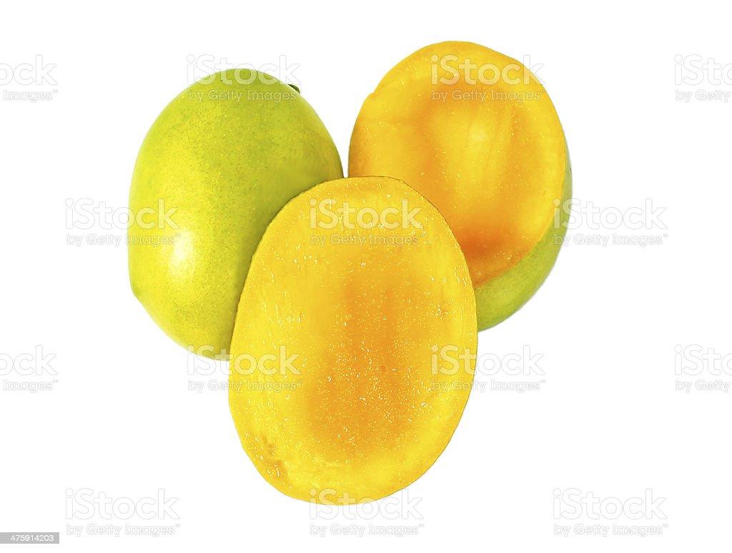 À maturité Mangos photo libre de droits