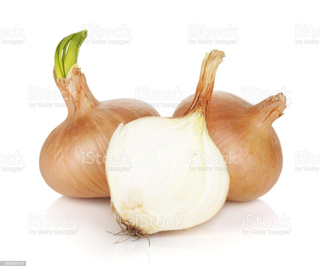 Ripe onion royalty-free stock photo