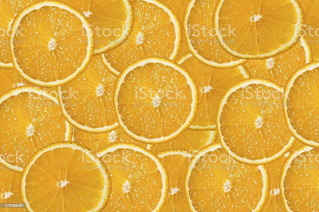ripe oranges royalty-free stock photo