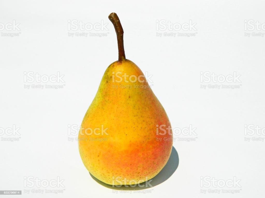 Ripe, organic pear stock photo