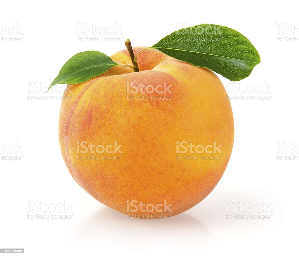 Ripe Peach stock photo