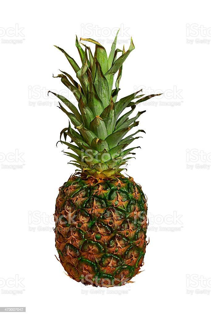 ripe pineapple royalty-free stock photo