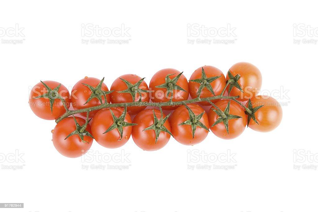 Tomates mûres rouges photo libre de droits