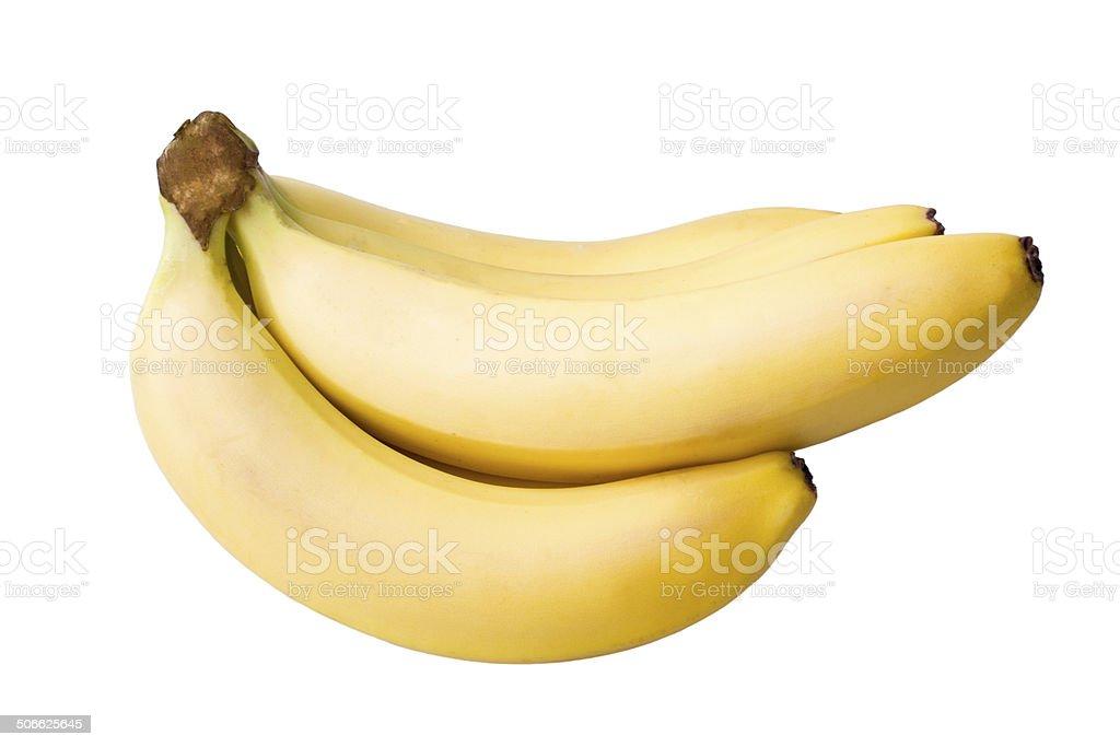 Doce bananas maduras foto royalty-free