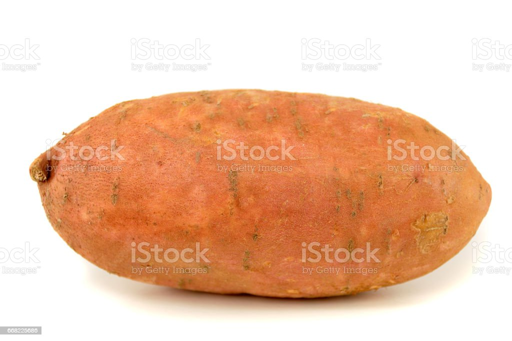 ripe sweet potato stock photo