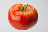 Ripe Tomato isolated. Clipping Path included.