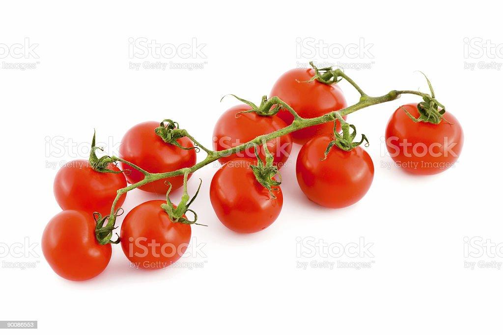 Ripe tomato royalty-free stock photo