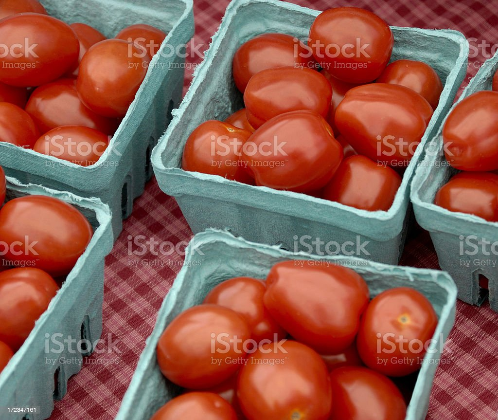 Ripe Tomatoes stock photo