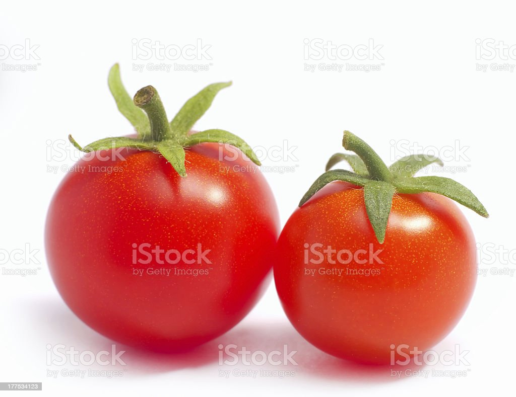 ripe tomatoes royalty-free stock photo