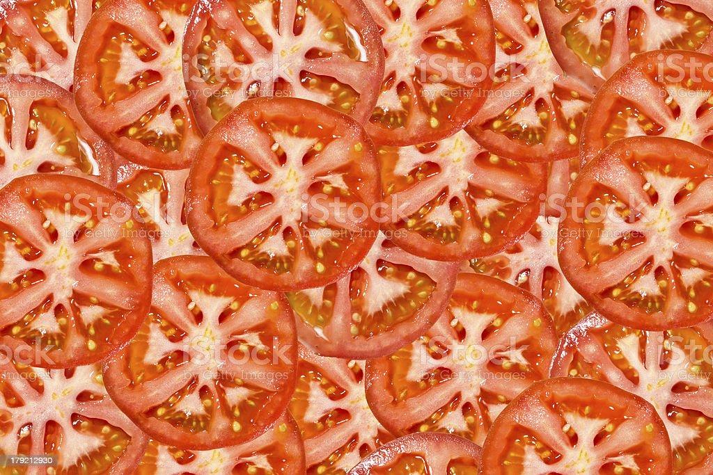 ripe tomatoes royalty-free stock photo