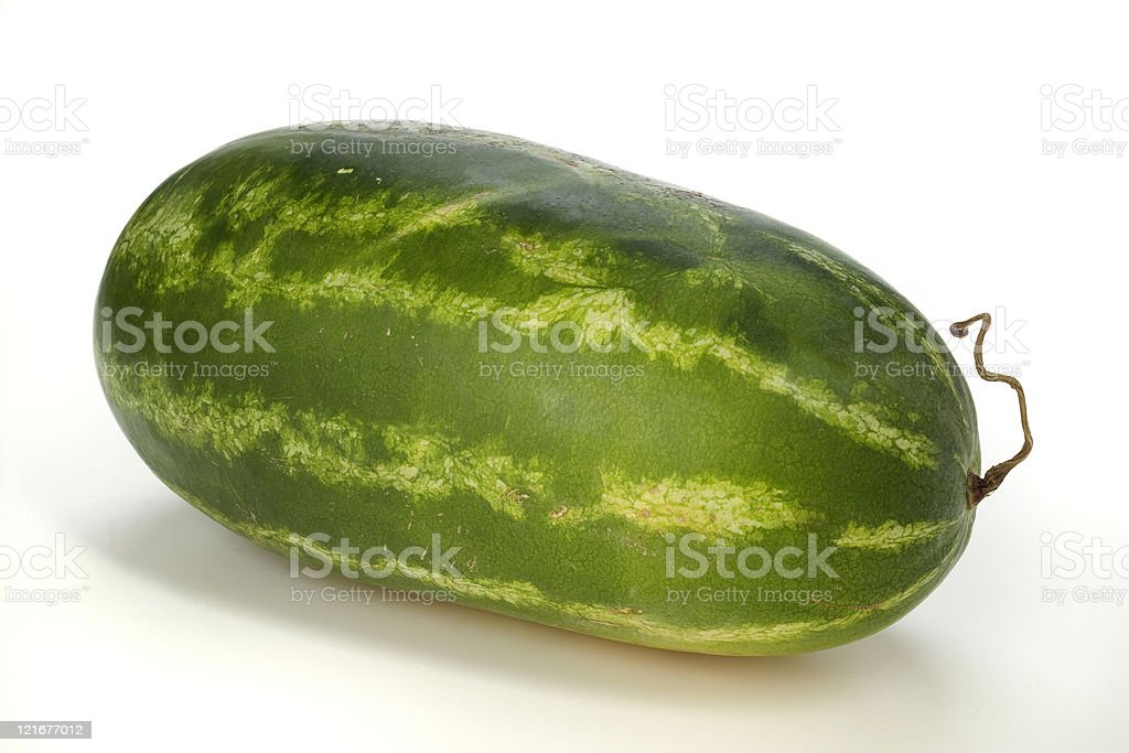 ripe watermelon royalty-free stock photo