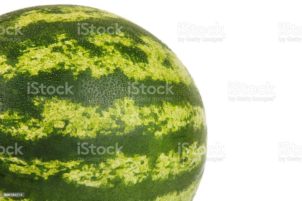 Ripe watermelon stock photo