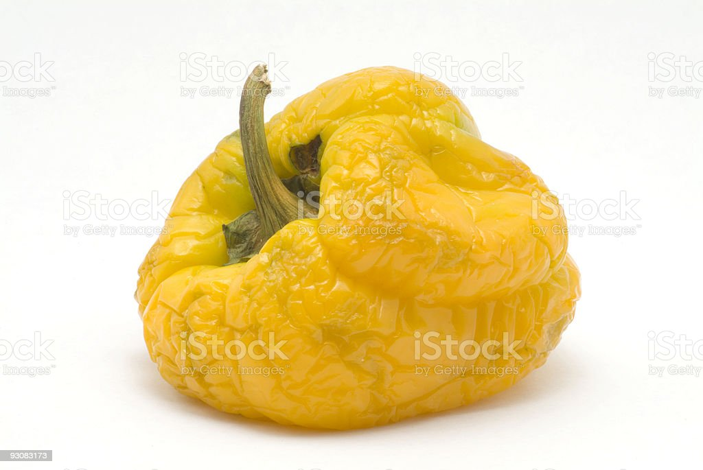 Ripe Yellow Pepper royalty-free stock photo