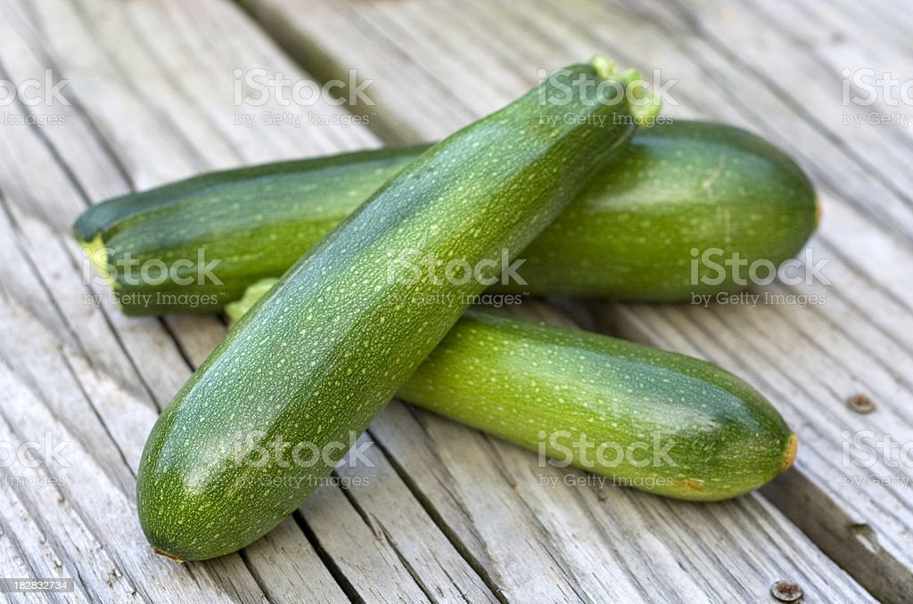 Ripe Zucchini royalty-free stock photo