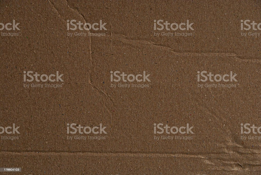 Ripped Cardboard Background royalty-free stock photo