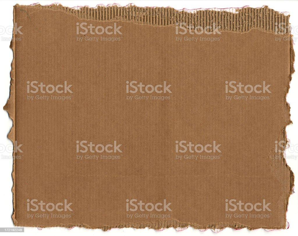 Ripped Cardboard XXXL stock photo