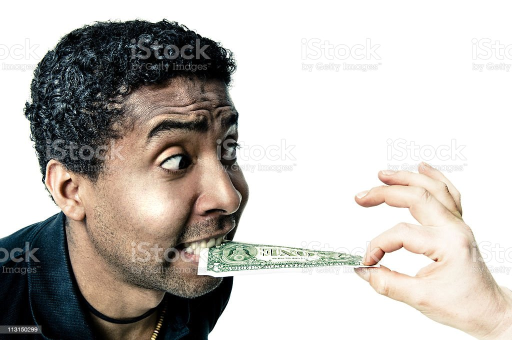 Ripped off royalty-free stock photo