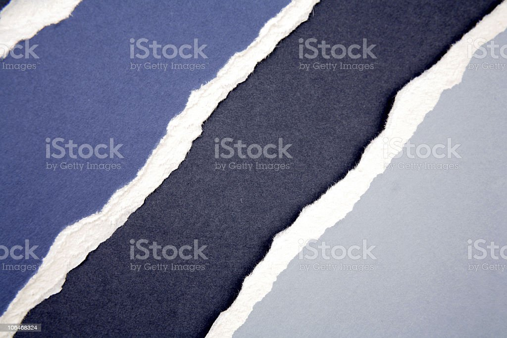 Ripped paper royalty-free stock photo