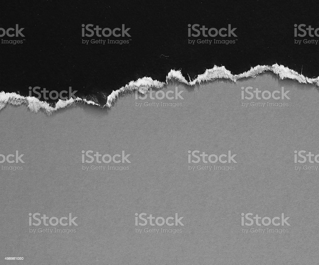 Ripped paper stock photo